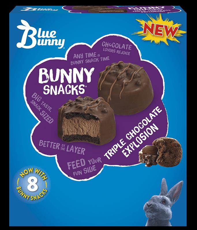 Triple Chocolate Explosion Bunny Snacks®