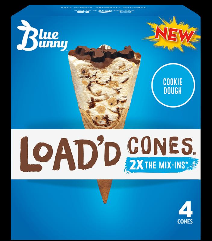 Load'd Cones™ Cookie Dough
