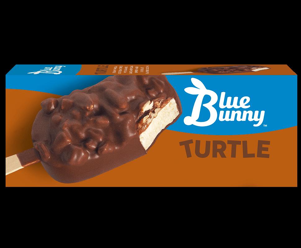 Turtle Bar Blue Bunny