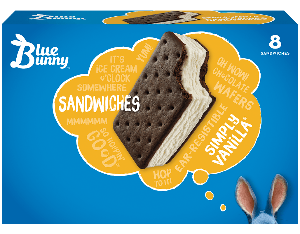 Simply Vanilla® Sandwiches