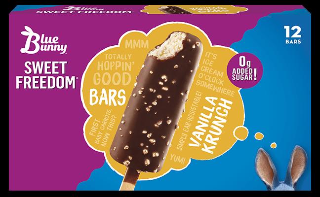 Sweet Freedom® Vanilla Krunch Bars