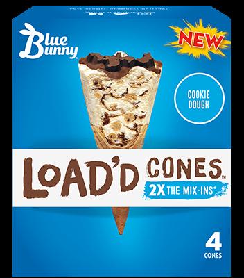 Load'd Cones® Cookie Dough