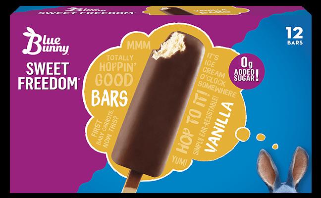 Sweet Freedom® Vanilla Bars