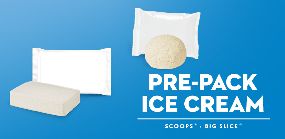 Pre-Pack Ice Cream