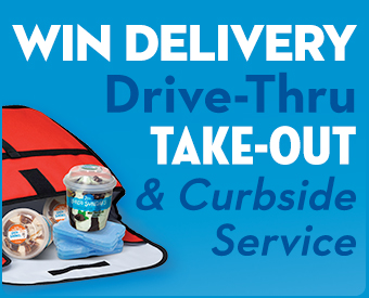 Win Delivery, Drive-Thru, Take Out & Curbside Service