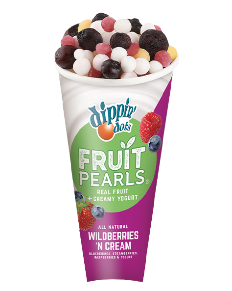 Dippin' Dots® Fruit Pearls® Wildberries 'n Cream
