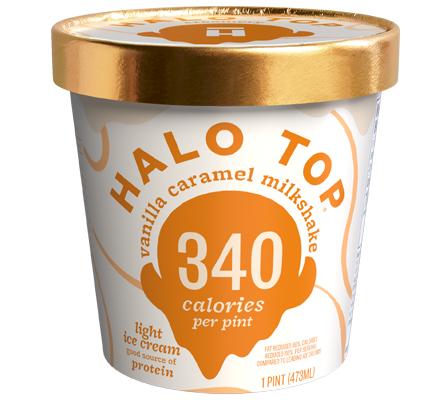 Vanilla Caramel Milkshake