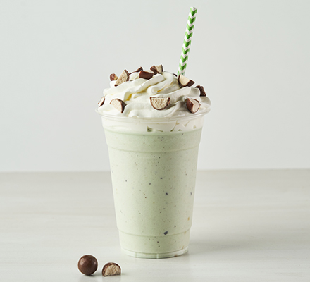 Malted Mint Shake