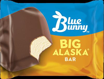 Big Alaska Bar Ice Cream Bar Blue Bunny Blue Bunny