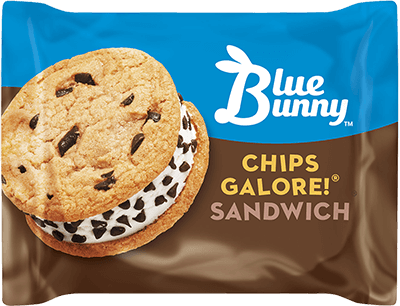 Chips Galore Ice Cream Cookie Sandwich