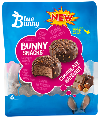 Chocolate Hazelnut Bunny Snacks®