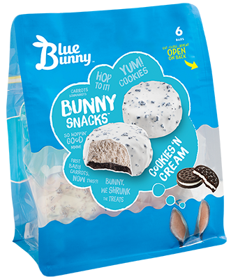 Cookies 'N Cream Bunny Snacks™