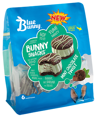 Mint Chocolate Twist Bunny Snacks™