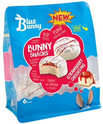 Strawberry Cheesecake Bunny Snacks™