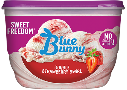 Sweet Freedom® Double Strawberry Swirl