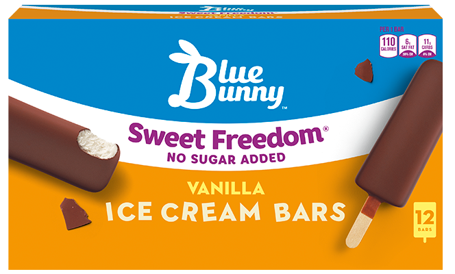 Sweet Freedom® Vanilla Ice Cream Bars