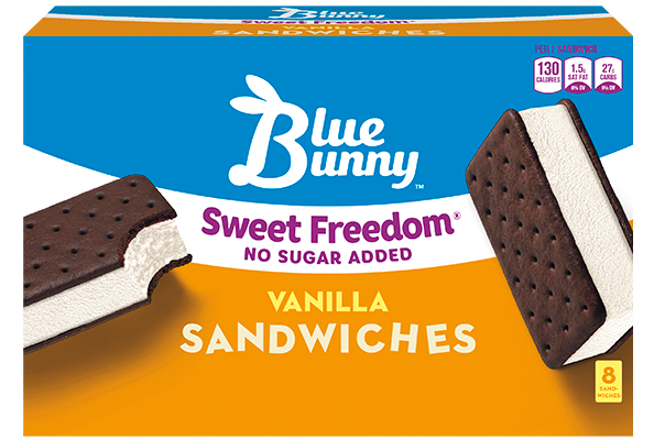 Sweet Freedom® Vanilla Sandwiches