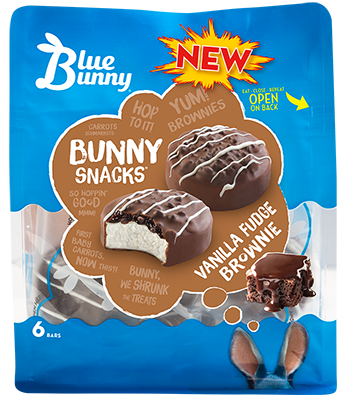 Vanilla Fudge Brownie Bunny Snacks™