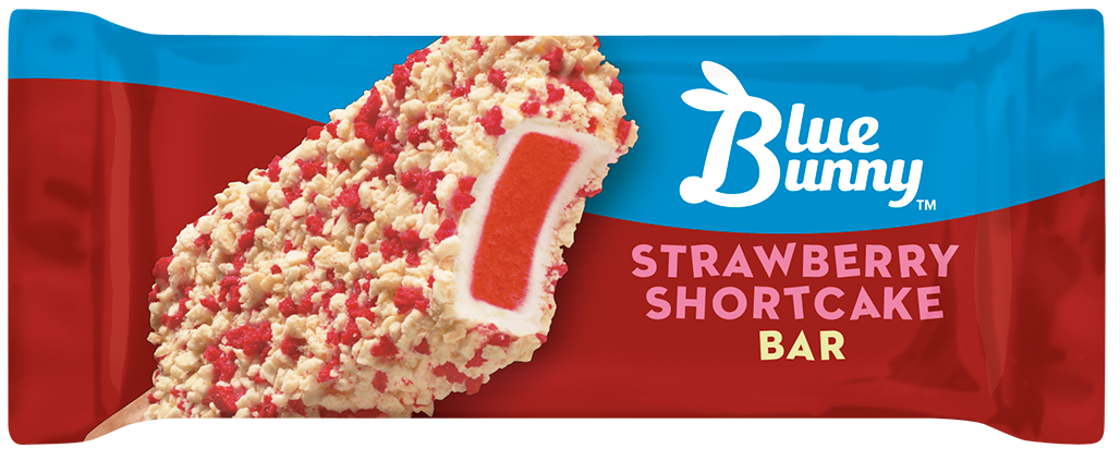 Strawberry Shortcake Ice Cream Bar - Blue Bunny