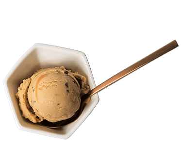 Café Almond Scoop