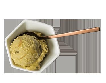 Pistachio & Caramel Scoop