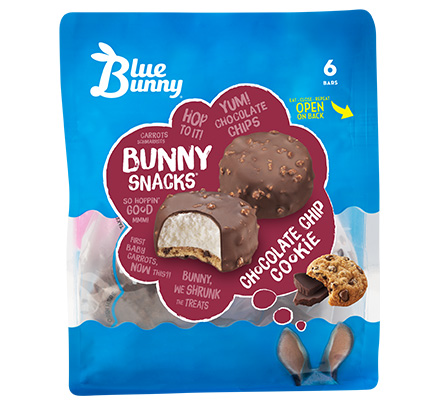Chocolate Chip Cookie Bunny Snacks®