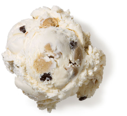Chocolate Chip Cookie Dough Premium Ice Cream