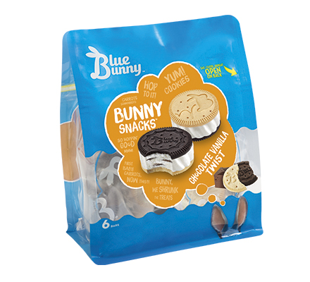 Chocolate Vanilla Twist Bunny Snacks™