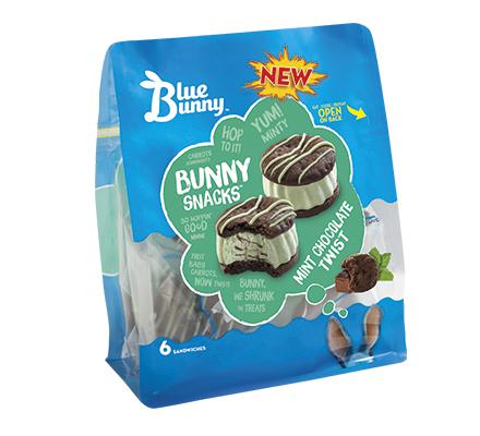 Mint Chocolate Twist Bunny Snacks™