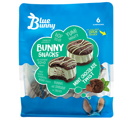 Mint Chocolate Twist Bunny Snacks®