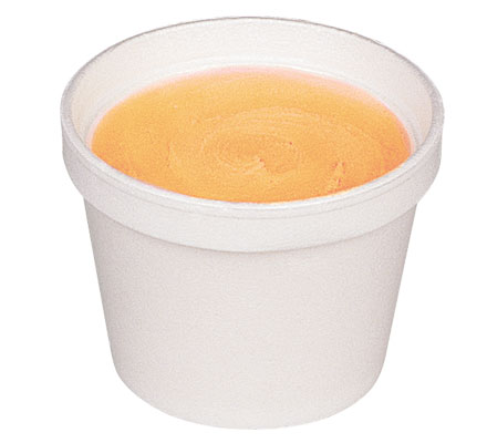 Orange Sherbet Cup