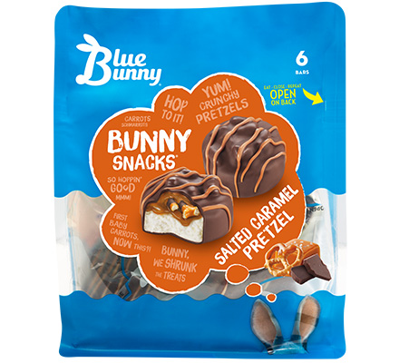 Salted Caramel Pretzel Bunny Snacks®