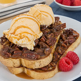 Buttered Pecan French Toast