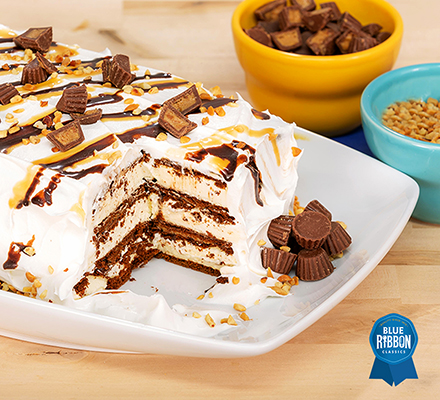 Easy Peanut ButterIce Cream Cake