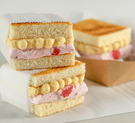 PB & J Ice Cream Sandwich